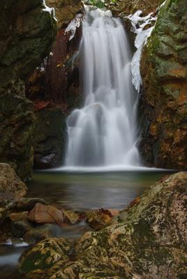 Dick's Creek lower falls