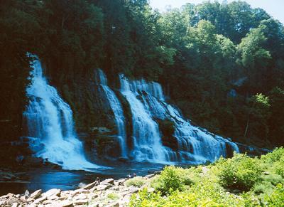 Great Falls Rock Island State Park TN