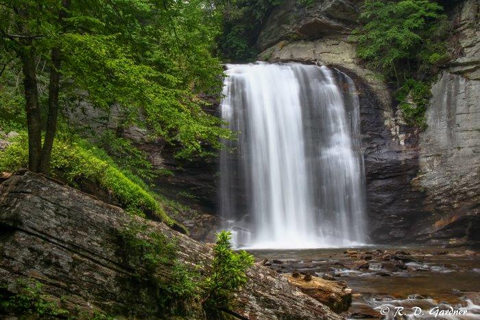 Looking Glass Falls near Brevard, NC