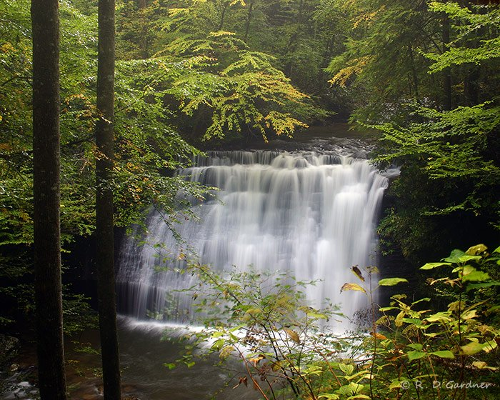 Middle Little Stoney Falls in Hanging Rock Rec. Area